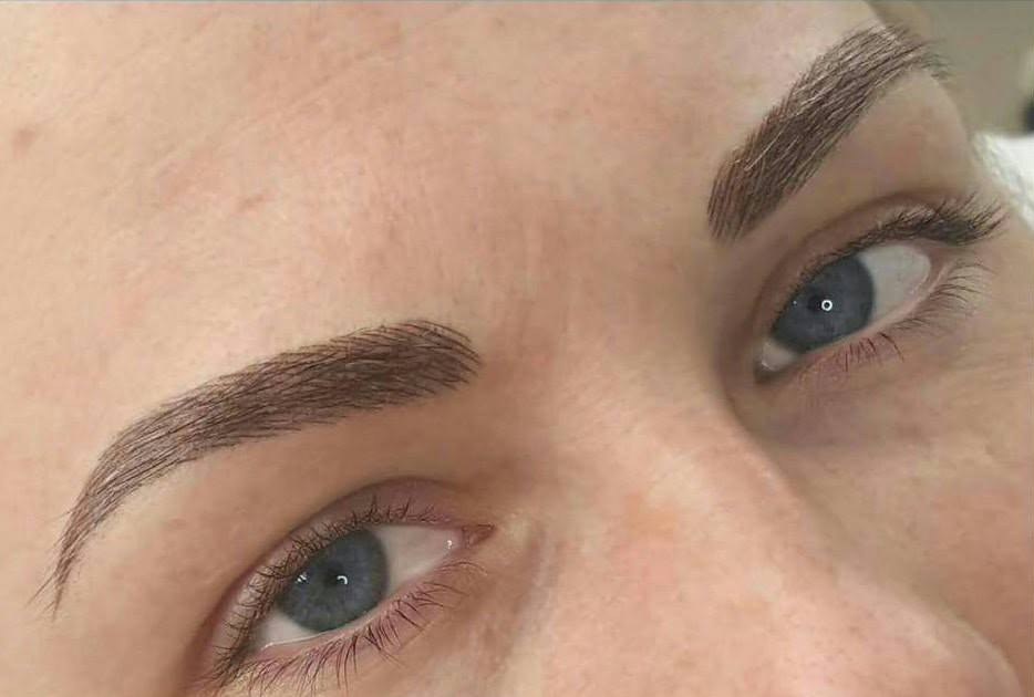 Feather Touch Brow Tattoo Eye Design Sydney